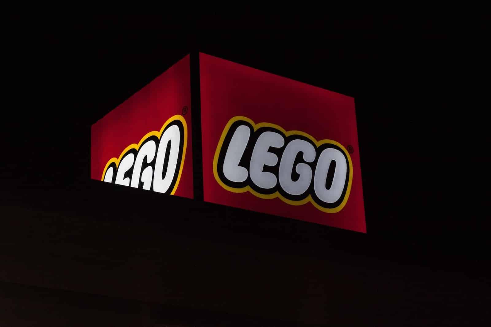 Il logo della Lego