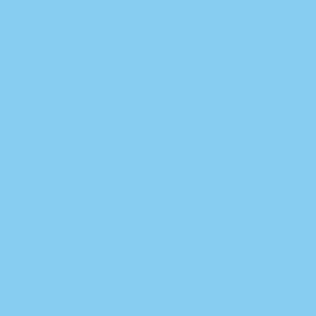 un quadrato azzurro