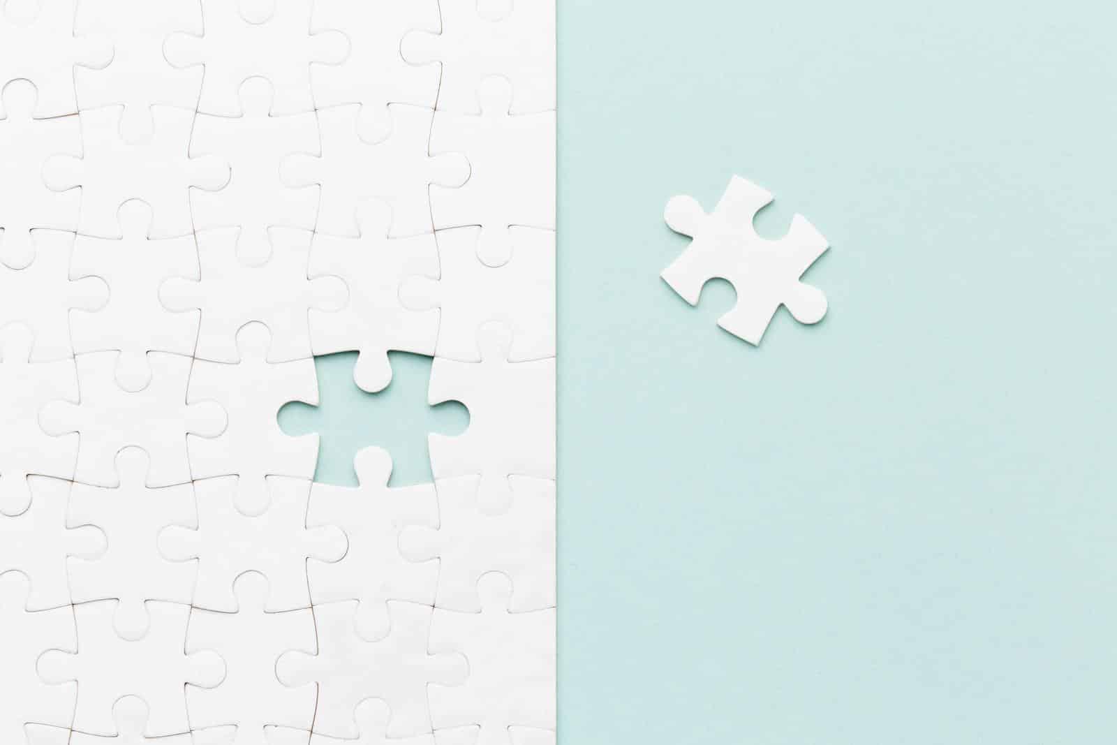 Immagine di un puzzle