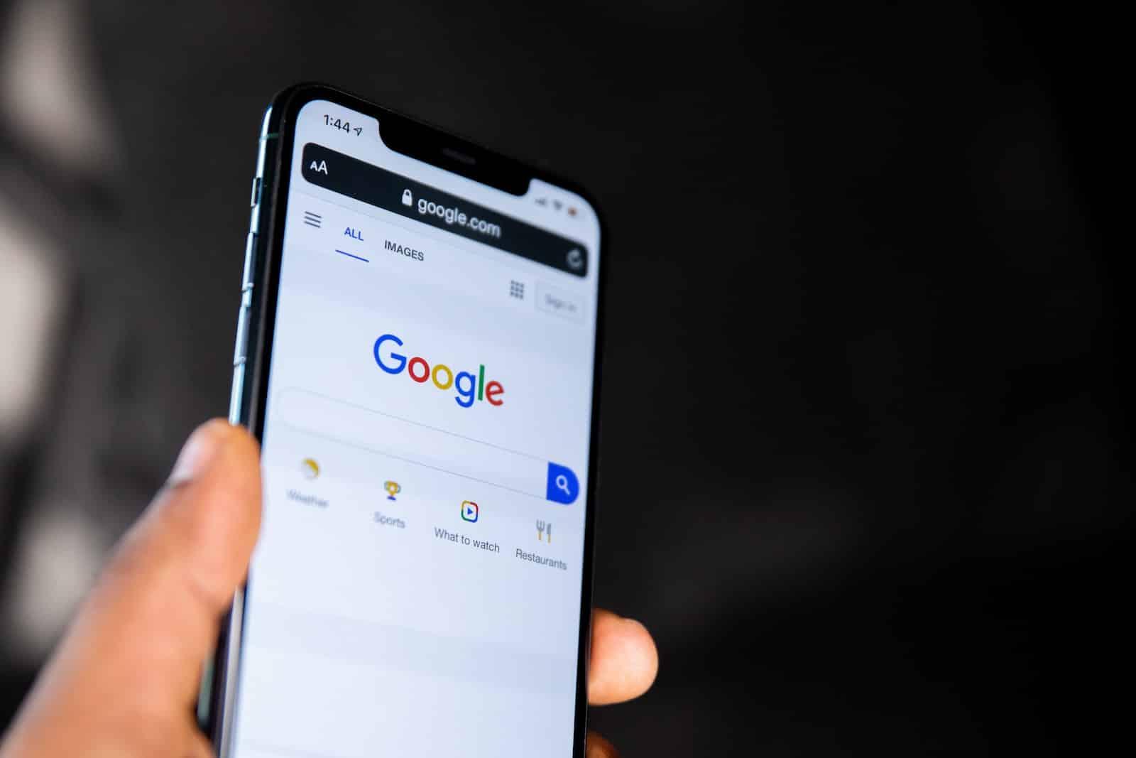 Ricerca sul motore di ricerca di Google